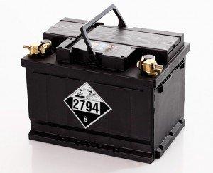 batterie-Règlement sur le transport de marchandises dangereuses